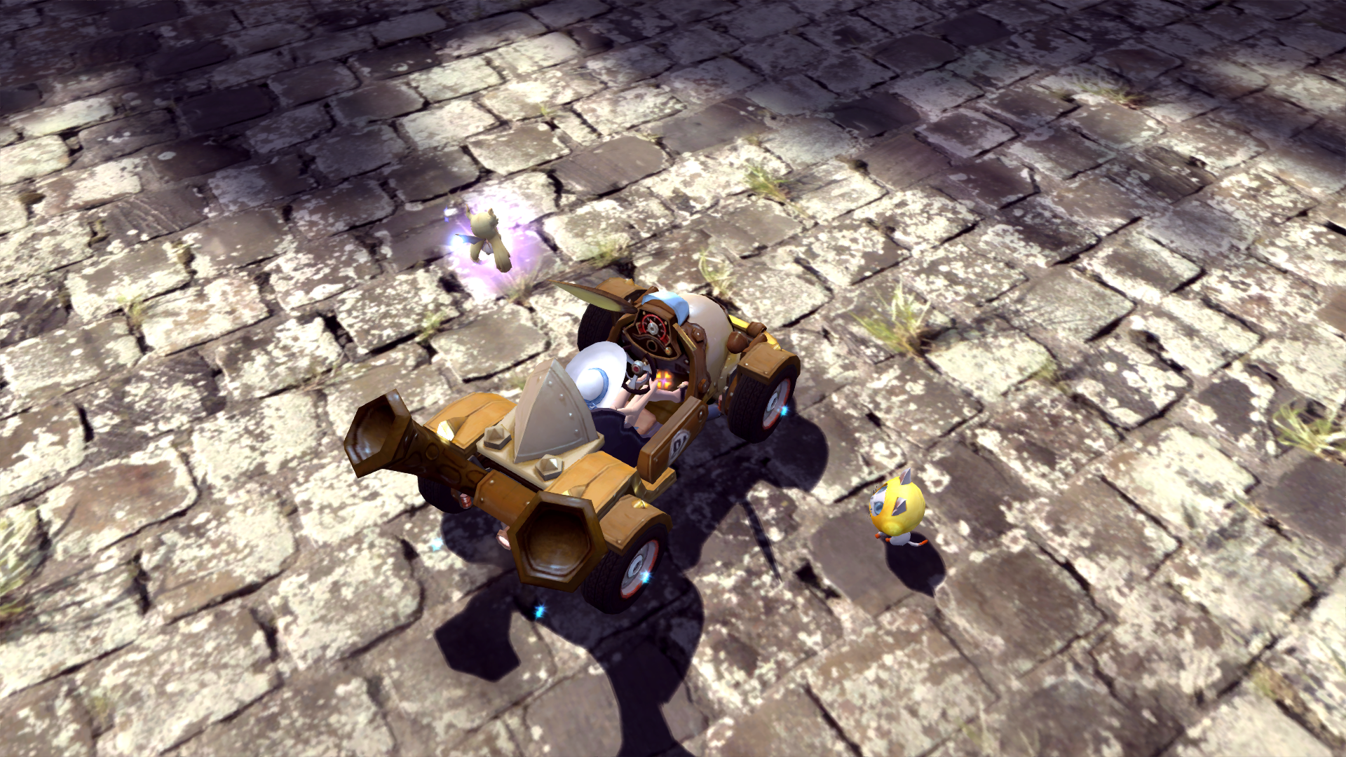 蒸汽兔兔车,它,它来了~!